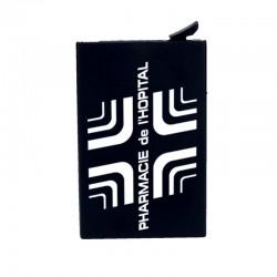 Porte multicarte rfid - noir - 9.5x6cm