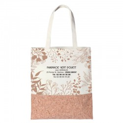 Sac vegetal 38x42 - mix coton liege