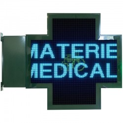 Croix diode pharmacie très haute définition 144x144 cm