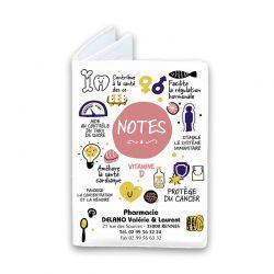 Bloc note cover numérique Vitamine D
