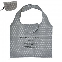 Sac reutilisable polyester  45x56 cm - textile polyester