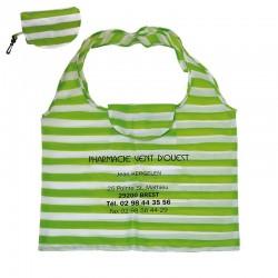 Sac réutilisable  polyester  45x56 cm - textile polyester