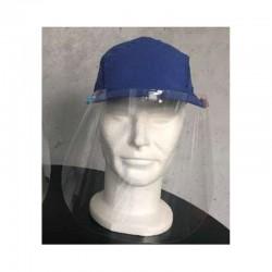 Sécurisez vos échanges : visière d'hygiène avec casquette