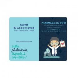 Porte carte vitale PVC - motifs proximity - 13,2x9,6 cm